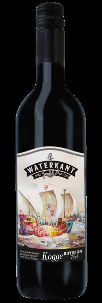 KOGGE Hanse Rotspon 2015er trocken, Waterkant Winebottlers