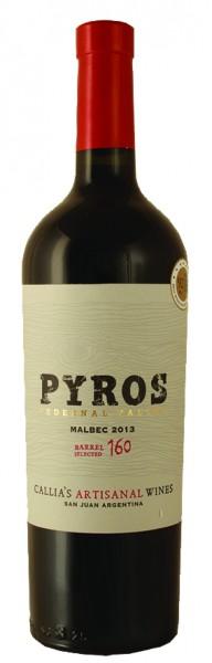 Pyros Malbec Pedernal Valley Barrel Selected 2014 trocken, Bodegas Callia