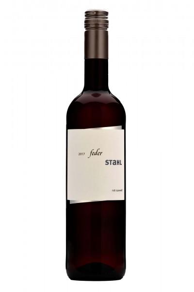 Federstahl Rotwein Cuvée 2017 trocken, Winzerhof Stahl